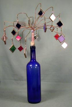 sm tree wine bottle